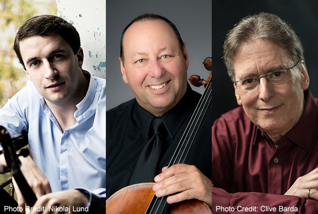 Noah Bendix-Balgley, Peter Wiley & Robert Levin